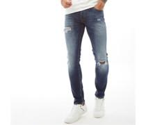 Glenn Original Ge 141 Jeans in Slim Passform Denim