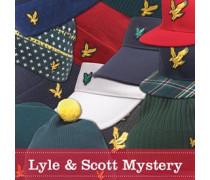 Lyle And Scott Vintage Herren Mystery Shop Beanie Mütze Mehrfarbig