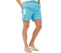 Herren Fender Badeshorts Aquamarine