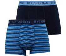 Herren Kent 2 Packung Boxershorts Multi