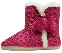 Board Angels Womens Chenille Boot Slipper