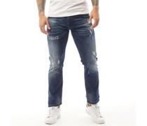 Verbena Jeans in Slim Passform Dunkel Denim
