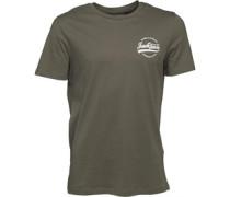 Herren Alan T-Shirt Olivengrün