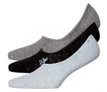 Footsies Socken Schwarz