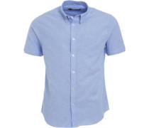 Herren Plain Oxford Hemd mit kurzem Arm Sky Blue