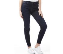 Damen Tiara Skinny Jeans Dunkelblau