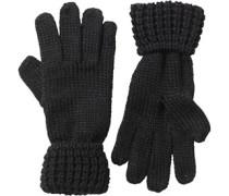 Damen Handschuhe Schwarz
