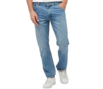 Herren Studding Jeans in Slim Passform Blau