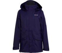 Damen Skiddaw AQ2 Waterproof Shell Performance Jacke Blau