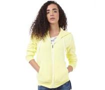 adidas Neo Womens Basic Full Zip Hoody Yellow