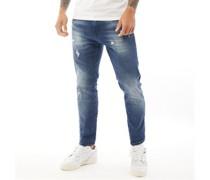 Moriarty 642 Jeans in Slim Passform Verwaschenes