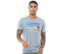 Cafe T-Shirt Hellblau