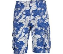 Herren Beach Mazarine Cargo Shorts Blau