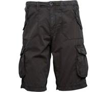 Herren Cargo Shorts Schwarz