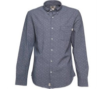 Timberland Mens Printed Pattern Woven Long Sleeve Shirt Picket Fence