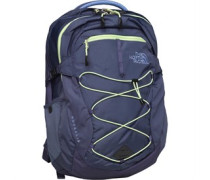 THE NORTH FACE Womens Borealis 25L Day Pack Rucksack Crown Blue/Budding Green
