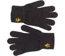 Herren Handschuhe Schwarz