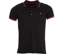 Mens T-Skin Polo 900 Black