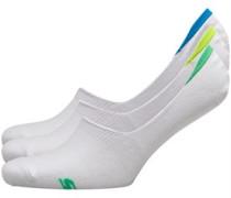 SKECHERS Socken Weiß