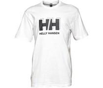 Helly Hansen Herren Repeat Logo T-Shirt Weiß