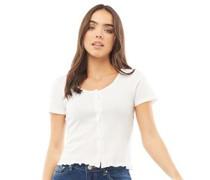 Zelly Button Through T-Shirt