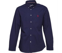 Mens Clara Long Sleeve Shirt Medieval Blue