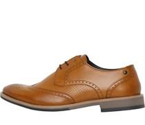 Hewitt Waxy Brogue Schuhe Hell