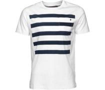 French Connection Herren Five T-Shirt Weiß