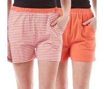 Damen Shorts Korallenrosa