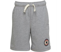 Jungen French Terry Vintage Shorts Grau