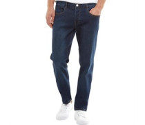 Herren Henry Jeans in Slim Passform Indigo
