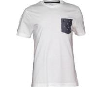 Original Penguin Herren Egg Timer T-Shirt Weiß