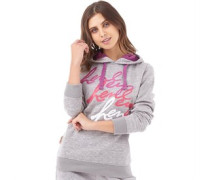 Henleys Womens Alphine Hoody Grey Marl