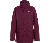 Damen Skiddaw AQ2 Waterproof Shell Performance Jacket Lila