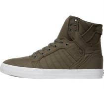 Herren Sktyop Sneakers Khaki