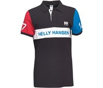 Helly Hansen Herren Heritage Numbe Polohemd Schwarz