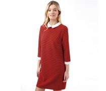 Damen Martha 3/4 Kleid Rot