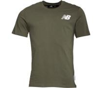 Herren Logo Graphic T-Shirt Khaki