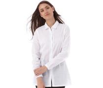Onfire Damen Bluse mit langem Arm Weiß