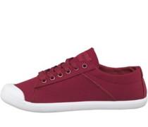 Damen Indie Sneakers Burgunderrot