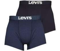Levi's Mens Two Pack Boxers Grey