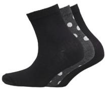 Damen Dots Socken Mehrfarbig