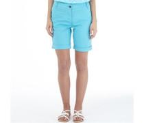 Board Angels Damen Twill Shorts Blau