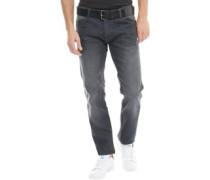 Herren Wayne Jeans in Slim Passform Verblasstes Grau