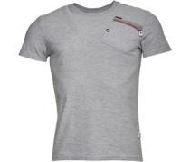 Herren Azzo T-Shirt Graumeliert