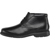 Rockport Herren Plain Toe Formal Stiefel Schwarz