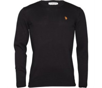 U.S. POLO ASSN. Mens Duke Sweatshirt Black
