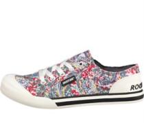 Damen Paisley Jazzin Freizeit Schuhe Grau