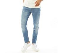 Wardley Jeans mit zulaufendem Bein Hell