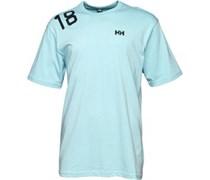 Helly Hansen Herren Shoulder Logo T-Shirt Himmelblau